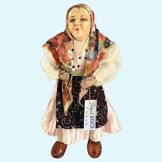 "10"" Ravca Paris~ Elderly Woman~ Levice Region- Hungary/Slovakia"