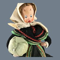 "Large~ Cloth~ Klumpe type Peasant 12"""