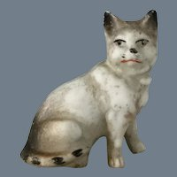 Mini All bisque Cat~ Hertwig Germany