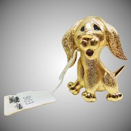 Jomaz Adorable Puppy Dog Pin
