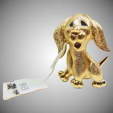 Jomaz Adorable Puppy Dog Pin