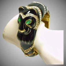 Ciner Black Panther Clamper Bracelet