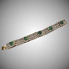 Mexican Green Onyx Bracelet