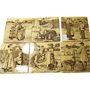 Minton Tiles 6 ~ Wm Wise ~ Country Life 1880's