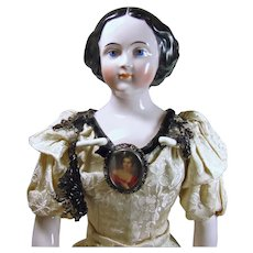 Emma Clear 23 Inch  Jenny Lind Doll in Original Clothes