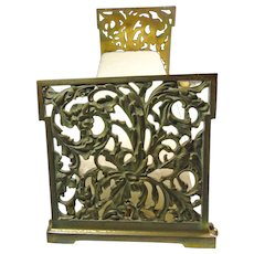 Art Nouveau Adjustable Bookends
