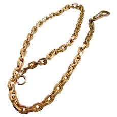 Heavy Gold Filled Watch Chain