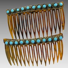 Two Southwestern Hair Combs