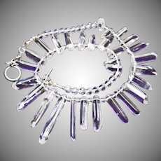 Natural Rock Crystal Fringe Necklace