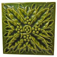 United States Encaustic High Art Majolica Tile