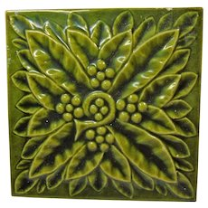 United States Encaustic High Art Majolica Tile
