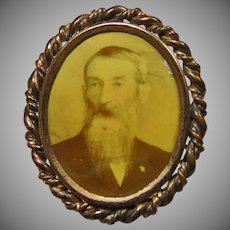 Victorian Portrait Pin