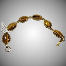 Tiger's Eye Link Bracelet
