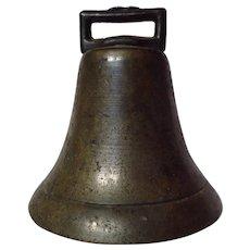 Vintage Brass Sheep Goat Bell
