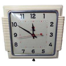 "Vintage 1950's Telechron Wall Clock ""The Kitchenmate"""