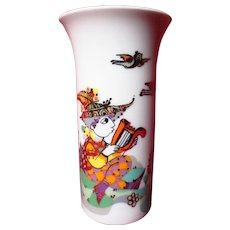 "Vintage Bjorn Wiinblad for Rosenthal ""Arundo"" Trumpet Vase"