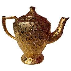 Kingwood Ceramics Weeping Gold Coffee Pot