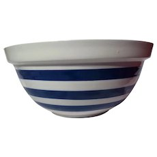 "Staffordshire Potteries Chef ""Cordon Bleu"" Cornishware Mixing Bowl"