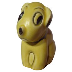 Vintage Bourne Denby Pottery Dog Figurine