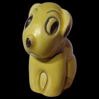 Vintage Bourne Denby Pottery Dog Figurine