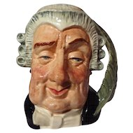 """Royal Doulton """"The Lawyer"""" Large Character Jug ~ Model D6498"""