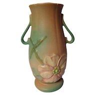 Vintage Weller Pottery Wild Rose Vase