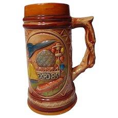 Vancouver Expo 86 Souvenir Beer Stein