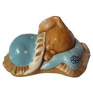 PenDelfin Stoneware Rabbit Snuggles