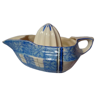 Vintage 1950's Tashiro Shoten Ltd. Japanese Pottery Reamer