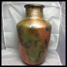 Stunning Carstens Tonnieshof Fat Lava Floor Vase
