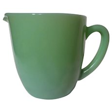 Fire King Jadeite Milk Pitcher