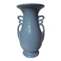 Vintage Abingdon Berne Vase Cool Blue~ Model 535