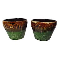 "Robinson Ransbottom RRP Co Sun and Moon 6"" Jardiniere - 2 Available"
