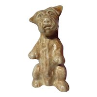 Vintage Price Kensington Begging Terrier Figurine