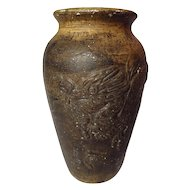 Vintage Early Medalta Dragon Vase - Model 103