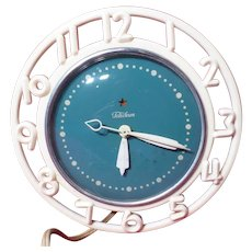 "Vintage Telechron Electric Clock GE Canada ""The Decorator"""