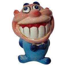 Vintage 1960's Kreiss Psycho Ceramics Smiling Figurine