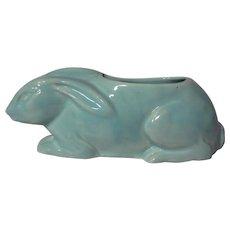 Vintage  Medalta Rabbit #123 Vase