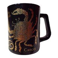 Federal Glass Cancer The Crab Horoscope Mug