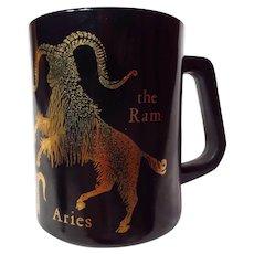 Federal Glass Aries The Ram Horoscope Mug