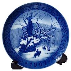 """Royal Copenhagen """"The Royal Oak"""" 1967 Christmas Plate"""