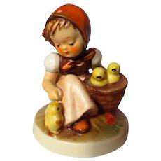 Goebel Hummel 57/0 Chick Girl Figurine - 3rd Trademark