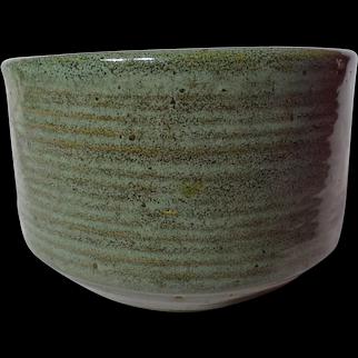 Zanesville Stoneware Stoneage Modern Homespun Vase