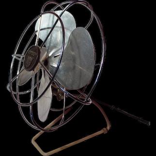 Vintage Torcan Four Blade Electric Desk Fan