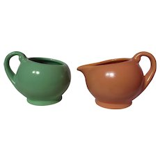 Metlox Poppy Trail 200 Series Creamer & Open Sugar