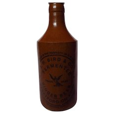 R.M. Bird & Co. Fermented Ginger Beer Stoneware Bottle