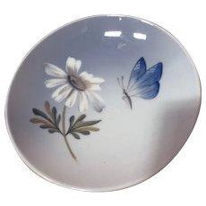 Royal Copenhagen Butterfly and Daisy Pin Dish