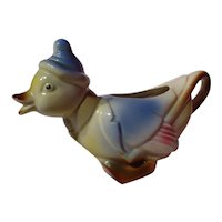 Vintage Spaulding China / Royal Copley Duck Creamer