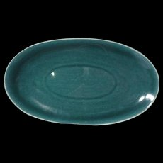 Vintage Russel Wright American Modern Seafoam Underplate Steubenville China