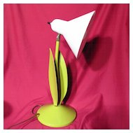 Retro Ornalux Design Co Chartreuse Desk Lamp
